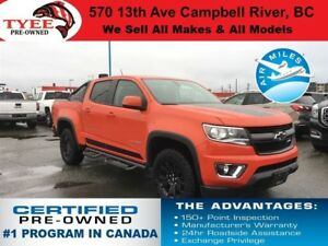 2016 Chevrolet Colorado Z71 Trail Boss Remote Start Heated Seats
