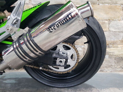 Used, Kawasaki Z1000 (07-09) Beowulf Silencers Exhausts Mufflers OVAL PAIR KA092OMSS32 for sale  Shipping to Ireland