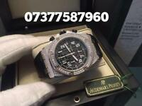 Ap Audemars Piguet diamonds iced out with box and papers