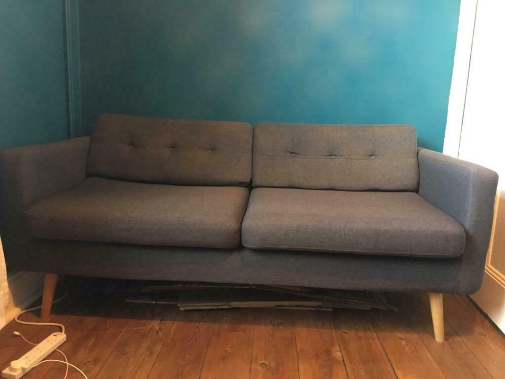Superb Retro Vintage Mid Century Style Sofa 2 3 Seater In Sheffield South Yorkshire Gumtree Machost Co Dining Chair Design Ideas Machostcouk