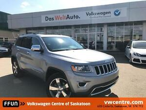 2016 Jeep Grand Cherokee Limited UNDER 34,000 KM!!