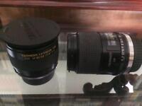 Tamaron sp 90mm lens canon eos adaptor and macro
