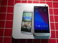 HTC One mini 2 16GB locked to Vodafone in white and silver.