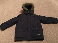 Junior J Navy Winter Coat (Jasper Conran)