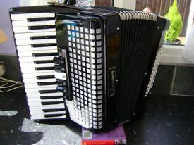 72 bass piano accordion light weight model