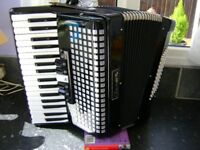 72 bass piano accordion light weight model