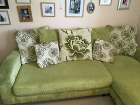 DFS Corner Sofa and Cuddle Sofa. Excellent Condition.