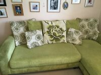 DFS Corner Sofa and Cuddle Sofa. Excellent Condition.