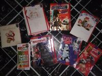 New selection *latest star wars etc* & various xmas cards-job lot