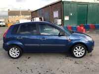 Ford Fiesta 1.4 Tdci on a 08 done 95k