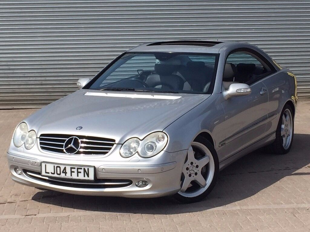 2004 MERCEDES BENZ CLK 500 AVANTGARDE, 5.0 ENGINE, COUPE, AUTOMATIC, GREAT  SPEC WITH FULL HISTORY