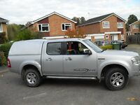 FORD RANGER REAR FIBRE GLASS BACK TRUCKMAN LOOKING THING