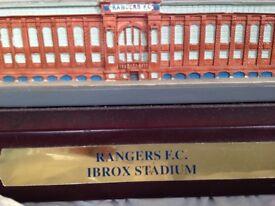 Ibrox stadium replica