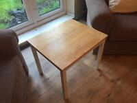 Used coffee table