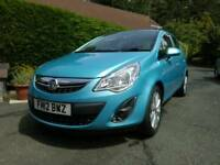 2012 Vauxhall corsa active , 17,000 miles , 1.2 engine