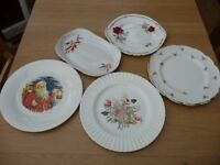 Bargain 89 Items Job Lot Car Boot Ornaments Including 1 Russ Figurine Plates Butterfly Trinket Chime