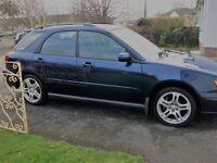 Subaru impreza turbo wagon, 12 months MOT