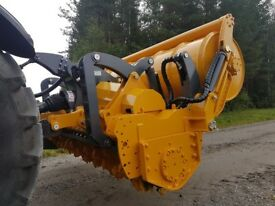 Stump Grinder Forestry Crusher / Mulcher