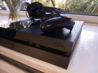 Play Station 4 Console + Games Bundle + Console + Headset