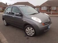 Low Mileage 37k* 2005 Nissan Micra Automatic 1.2 5 Doors Auto not 1.4 L Not Note Manual Yaris Aygo 3
