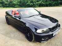 DLE SHIFT, HARD TOP, TV, SAT NABMW E46 M3 Convertible SMG AUTO PADV, (NOT VW R32, AUDI RS, TYPE R)
