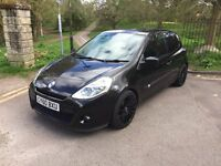 Renault Clio 2010, Long MOT, cheap tax and very economical, great condition, sports seats, alloys