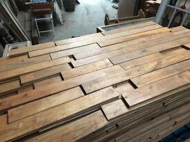 3 1⁄4 inch hardwood reclaimed T&G maple flooring