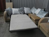 Corner Sofa With Pull Out Bed + 2 Seater - ONLY £150!!!!