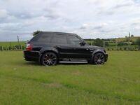 Stunning Range Rover Sport Top Spec May px swap