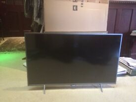 PHILIPS 43 INCH LED 4K HD TV FIVE MONTHS OLD IN EXCELLENT CONDITION HARDLY USED