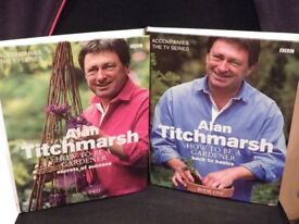 Alan Titchmarsh - How to be a Gardener Hardback Books (set of 2)