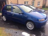 Fiat Punto, Low Miles, service history ideal first car