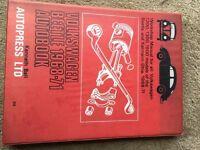 volkswagen beetle 1968-71 autobook by kenneth ball Autopress Ltd