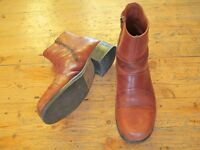 Quality Men's Tan Leather Boots