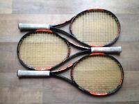 Wilson Burn 100s (3 racquets)