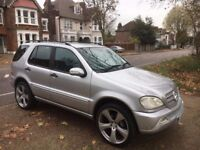 Mercedes Benz M Class- Full Dealership Service History- 1Yr MOT-7 seater-3MTH WARRANTY-New 4 Tyres-