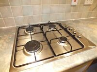 Integrated Gas Cooking hob