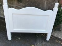 Single Bed Frame - solid painted pine