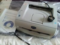 Brother Laser Printer, very good condition, manual and driver CD included