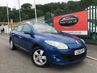 2010 (60 reg) Renault Megane 1.5 TD Dynamique 5dr (Tom Tom) Estate Turbo Diesel 6 Speed Manual