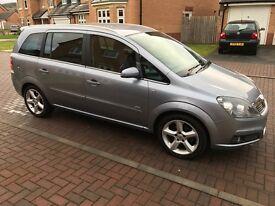 Vauxhall Zafira SRI 1.8l Petrol, 7 seater, Immaculate condition, 69000 miles, 57 reg, MOT 23.12.17