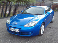 HYUNDAI COUPE 1.6 S SIII 3DR XENONS AUX BLUETOOTH CD HALF LEATHER SEATS INDUCTIONKIT F.S.H MOT 2KEYS