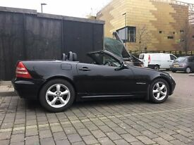 mercedes slk 2.3 kompressor convertible for sale, automat, 2003