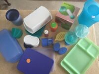 JOB LOT - SELECTION OF TUPPERWARE NEVER USED (OLD PARTY KIT).