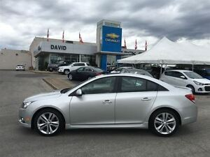 2012 Chevrolet Cruze 2LT RS, ALLOYS, SUNROOF, LOCAL TRD.!!