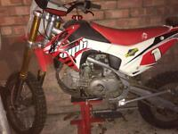 Wpb 160 race pitbike