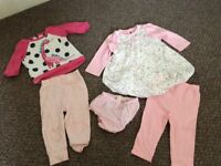 Baby girls clothes 6-9m