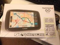 TomTom GO 5100 with case (brand new)