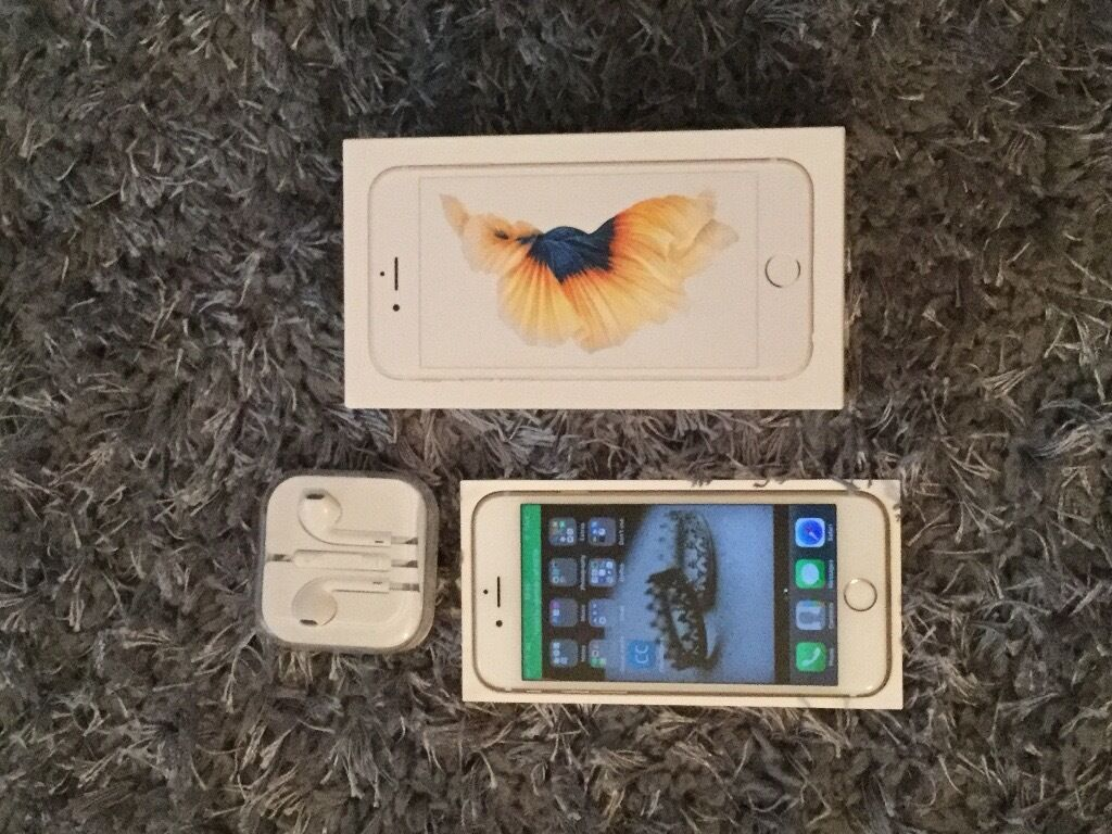 iPhone 6s Gold 16GBin Yardley, West MidlandsGumtree - iPhone 6s Gold 16GB, factory unlocked in immaculate condition, 1 month apple warranty left on it £340 ONO COLLECTION ONLY