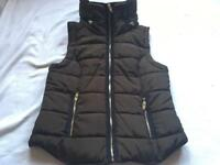 H&M Green Gilet/Body Warmer In Size Small /8 used £10